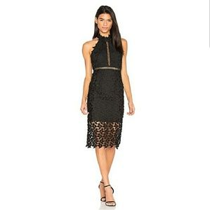 Bardot Gemma Lace Dress- Revolve Dress